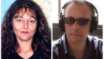 Ghislaine Dupont et Claude Verlon. REUTERS/Radio France International