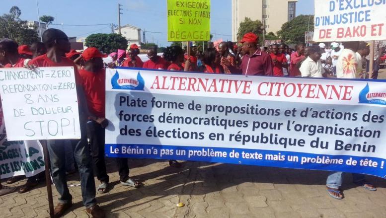 Au Bénin, succès de la manifestation pour réclamer des élections