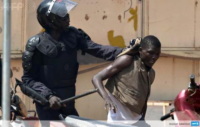 Les forces de sécurité ont tiré à balles réelles sur les manifestants (AFP)