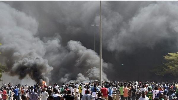 Urgent Burkina Faso : le président Blaise Compaoré décrète l'état de siège