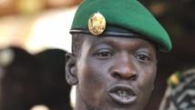 Le capitaine Amadou Sanogo, chef de l'ex-junte malienne en 2012 et 2013, est inculpé « de meurtre et de complicité de meurtres ». AFP PHOTO / ISSOUF SANOGO