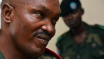 Le général congolais Jérôme Kakwavu lors de son procès à Kinshasa, le 7 novembre 2014. AFP / PAPY MULONGO