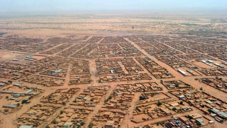 La ville d'Agadez était déjà sous surveillance préventive, c'est désormais tout le pays qui fait l'objet d'une campagne de sensibilisation nationale. AFP PHOTO / ISSOUF SANOGO