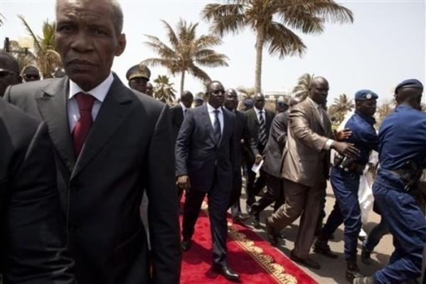 Président Macky Sall et son protocole