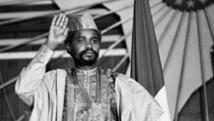 Hissène Habré, ancien président du Tchad, le 16 août 1983 à N'Djamena. AFP