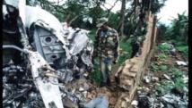 Site sur lequel s'est écrasé l'avion de l'ex- président rwandais, Juvénal Habyarimana, le 6 avril 1994. Getty/Scott Peterson