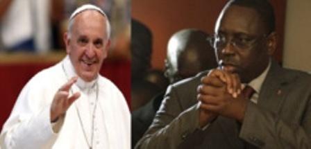 Le Président Macky Sall reçu par le Pape François, ce mardi