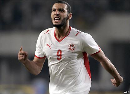 Yassine Chikhaoui égalise pour la Tunisie contre l'Egypte