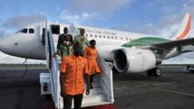 Avec ces vols intérieurs la clientèle visée par Air Côte d'Ivoire est plutôt une clientèle d'affaires. AFP PHOTO / ISSOUF SANOGO