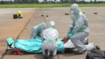 Une équipe d'intervention anti-ébola (Sierra Léone)