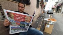 Même si les résultats officiels n'ont pas encore été annoncés, la Tunisie se dirige vers un second tour entre Moncef Marzouki et Beji Caïd Essebsi. AFP PHOTO / FADEL SENNA