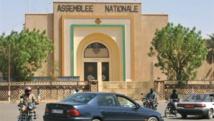 L'Assemblée nationale, à Niamey, où le nouveau président, Amadou Salifou, vient dêtre élu. AFP/Sia Kambou