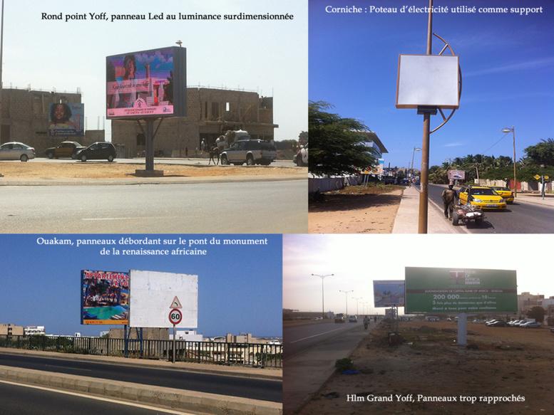 Panneaux publicitaire à Dakar : quand une nébuleuse installe l'anarchie et se sucre impunément