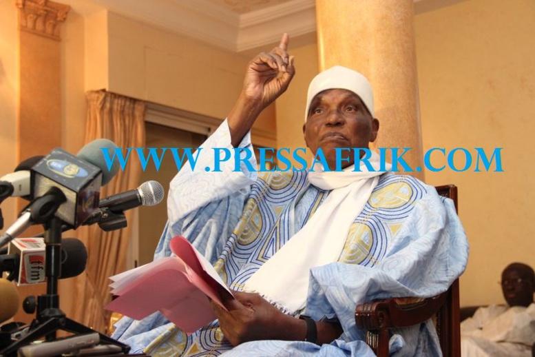 """""""Si Macky Sall ne part pas, il se passera au Sénégal des choses pire et inimaginable"""", avertit Wade"""