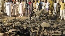Sur le lieu du triple attentat à la bombe contre la Grande Mosquée de Kano, dans le nord du Nigeria, le 28 novembre 2014. REUTERS/Stringer