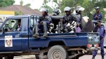 La police d'intervention rapide (PIR) à Kinshasa. Radio Okapi/John Bompengo