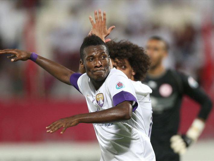 Asamoah Gyan meilleur que Ronaldo en  2014 !