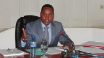Edouard Nduwimana, ministre de l'Intérieur du Burundi. assemblee.bi