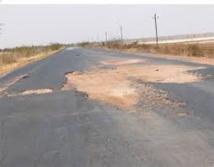 Lancement de la reconstruction de la route Fatick-Kaolack, ce lundi