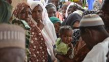 Des réfugiés nigérians photographiés à Maïné-Soroa, dans la région de Diffa, en avril 2014. AFP PHOTO / BOUREIMA HAMA