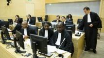 Des représentants du bureau du procureur lors du procès de Jean-Pierre Bemba, à La Haye, le 12 novembre 2014. Crédit BART MAAT / POOL / AFP