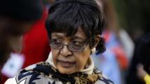 Winnie Madikizela-Mandela, ex-femme de Nelson Mandela. REUTERS/Siphiwe Sibeko