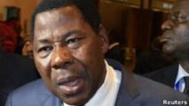 Thomas Yayi Boni le président du Bénin accusé de vouloir retarder les élections