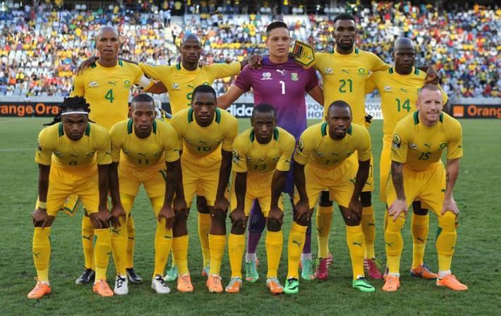 CAN 2015: L'Afrique du Sud dévoile une présélection de 34 joueurs