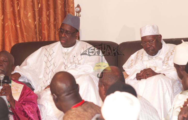 "Gamou Tivaouane : Le ""Ndiguël"" de « Al Amine »  pour l'accueil de Macky Sall"