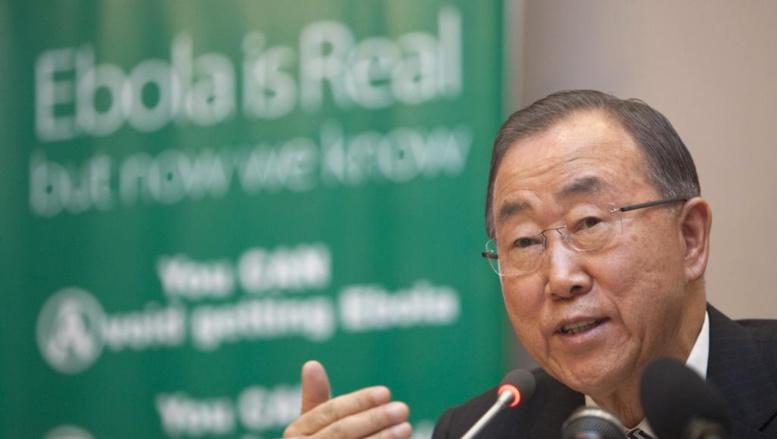 Ban Ki-moon en visite dans les pays les plus touchés par Ebola