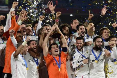 Mondial des clubs: le Real Madrid s'impose en finale