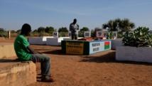 La tombe de Thomas Sankara au cimetière de Dagnoen de Ouagadougou, 22 novembre. RFI/Guillaume Thibault