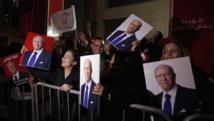 Beji Caïd Essebsi a été élu président de la Tunisie, le 22 décembre 2014, malgré ceux qui l'accusent d'incarner l'ancien régime de Ben Ali. REUTERS/Zoubeir Souissi