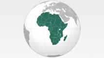 Carte du continent africain Montage RFI / Pierre Moussart