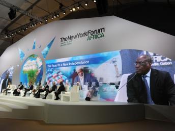 Gabon-NEW YORK FORUM AFRICA 2015 :  « Investir dans l'énergie du continent »