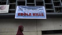 Campagne de prévention d'Ebola dans les rues de Freetown, capitale de Sierra Leone, le 23 septembre 2014. EUTERS/Bindra/UNICEF/handout via Reuters
