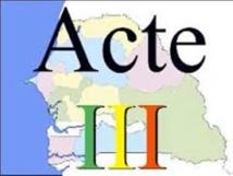 Décentralisation-Passif social et institutionnel: l'acte III déchiré de toutes parts