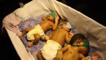 Bébés nés à la maternité de Lagos, Nigeria. Getty Images/ Bennett Raglin/WireImage