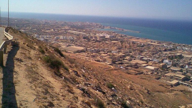 Port de Derna, Libye. Wikimedia