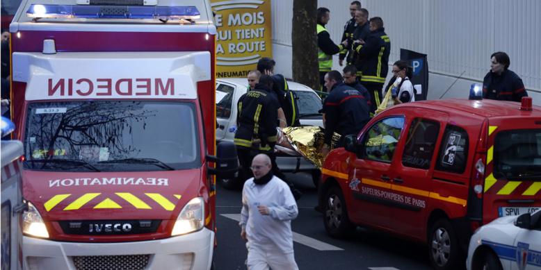 Fusillade à Montrouge : deux policiers blessés, le suspect en fuite