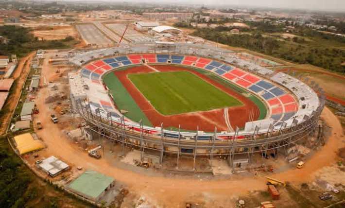 Can 2015 – Mongomo : le stade qui accueille le groupe du Sénégal recouvert d'une pelouse neuve
