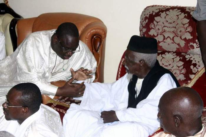 Autoroute Ilaa Touba : Macky Sall et sa gratitude au Khalife Serigne Sidy Makhtar Mbacké