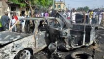 Ce n'est pas la première fois qu'un attentat sanglant frappe les marchés de Maiduguri, capitale de l'Etat de Borno (nord-est du Nigeria). Le 1er juillet 2014, au moins quinze personnes ont été tuées dans l'explosion d'une voiture piégée. AFP PHOTO/STRINGER