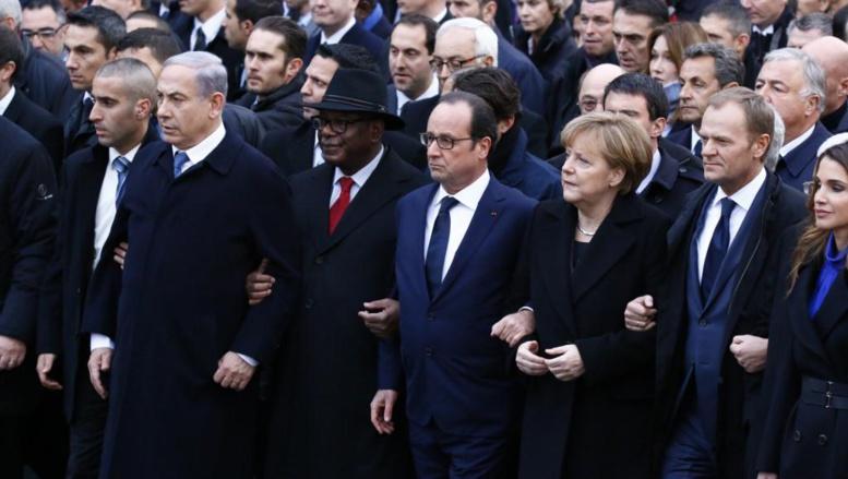 Marche républicaine: six présidents africains présents à Paris