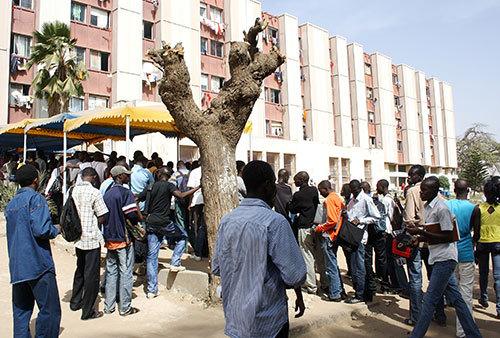 Le Saes contre la loi sur les universités, débute sa série de manifestations