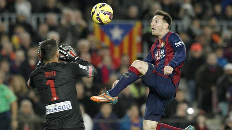 Liga - Barça : Impliqué comme rarement contre l'Atlético, Messi a répondu sur le terrain