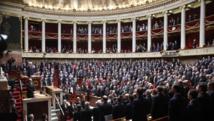 Palais Bourbon, Paris, le 13 janvier 2015. Hommage aux victimes des attaques de la semaine. REUTERS/Charles Platiau