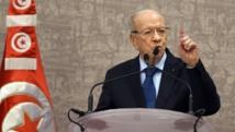Le président tunisien Beji Caïd Essebsi, le 24 décembre 2014, à Tunis. AFP PHOTO / FETHI BELAID