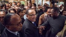 Kolo Roger (photo) avait donné la démission de son gouvernement le 12 janvier 2015. AFP PHOTO / RIJASOLO