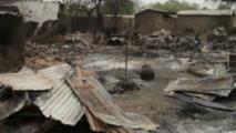 Selon Amnesty International, plus de 3.500 bâtiments ont été détruits par Boko Haram à Baga et ses environs